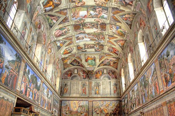 הקפלה הסיסטינית ברומא