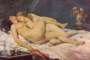 אהבת נשים ביצירות אמנות